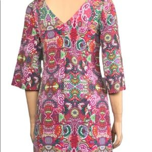 Laundry by shelli paisley dress size Small
